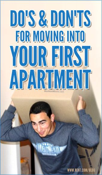 Moving into your first apartment can be thrilling and frightening at the same time. Packing may seem like a daunting task, but with some simple moving tips, your relocation will be worry-free. [Rent.com Blog] #moving #move #apartment