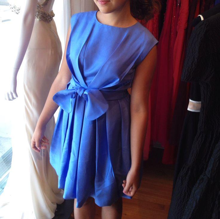 Ermanno Scervino raw silk dress