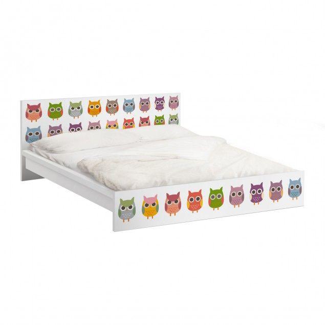 Office Ideas With Ikea Furniture ~   1000 ideeën over Malm Bett op Pinterest  Bett Eiche, Malm en Dekbed