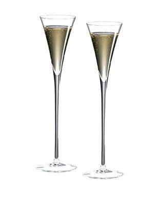 43% OFF Ravenscroft Set of 2 Crystal 6-Oz. Long Stem Champagne Flutes