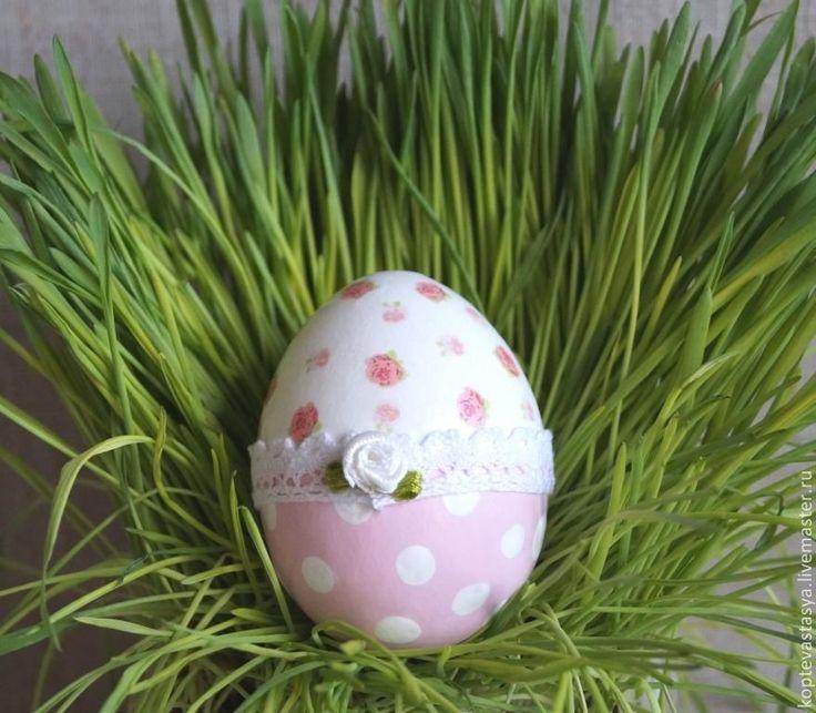 """Купить Яйцо Пасхальное """" Нежное"""" - бледно-розовый, яйцо, яйцо пасхальное, яйца"""