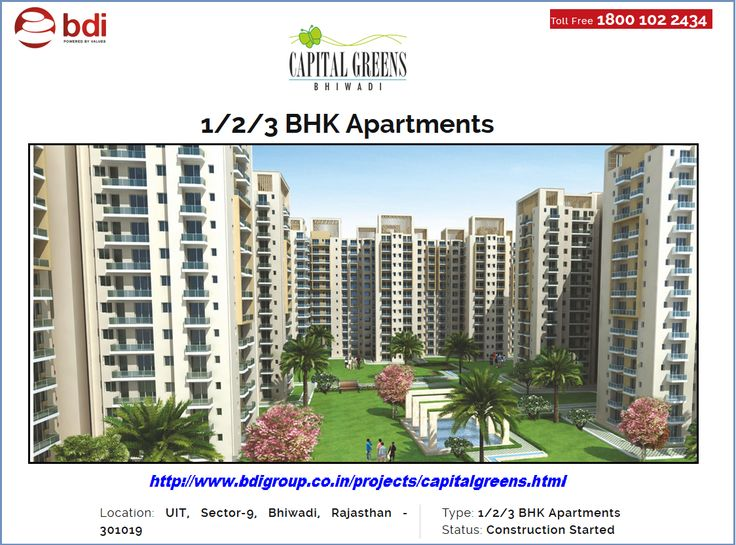 This apartment is located at UIT, Sector-9, Bhiwadi, Rajasthan. It is 4 side open and vaastu friendly homes. It is designed aesthetically with proper space utilization. It is surrounded by amenities like Badminton Court, Kids Play Area, Theme Gardens, Fountain, Club, Swimming Pool and Ample Car Parking etc.