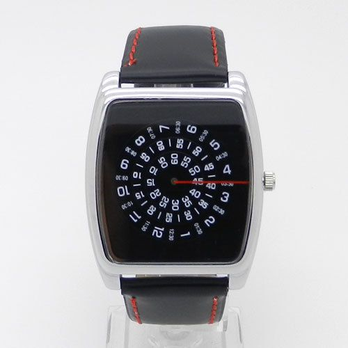 Cheap watch, Buy Quality watch ladies directly from China watch interchangeable Suppliers: Luxury New Fashion Cool Unique Turntable Dial Men Quartz Wrist watch Q0813US $ 5.50/pieceLuxury Fashion Black Quartz Wri