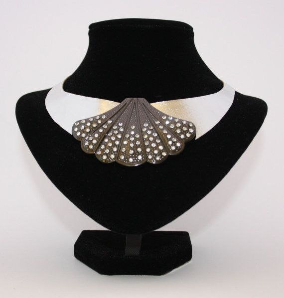 Art Deco neck collar  the only one of its kind by Deccoangel