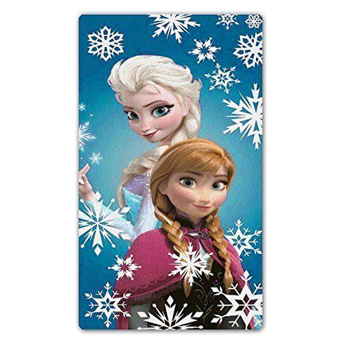 Frozen Elsa & Anna Velour Beach Bath Towel. Available at Kids Mega Mart online shop Australia www.kidsmegamart.com.au