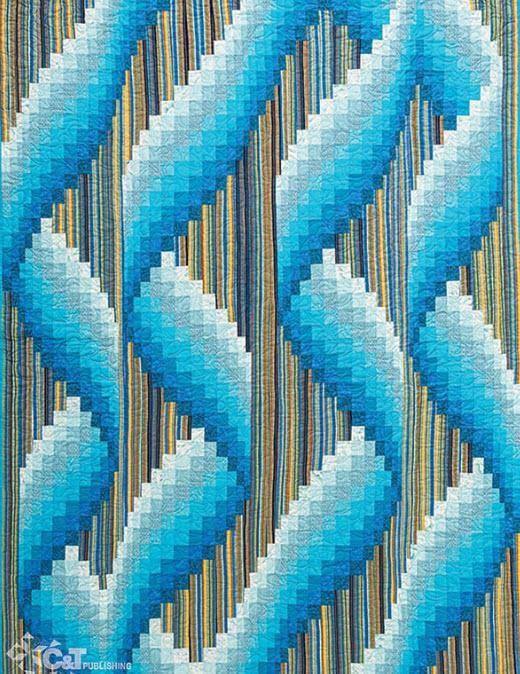 161 best bargello images on Pinterest | Bargello quilts, Bargello ... : bargello wave quilt pattern - Adamdwight.com