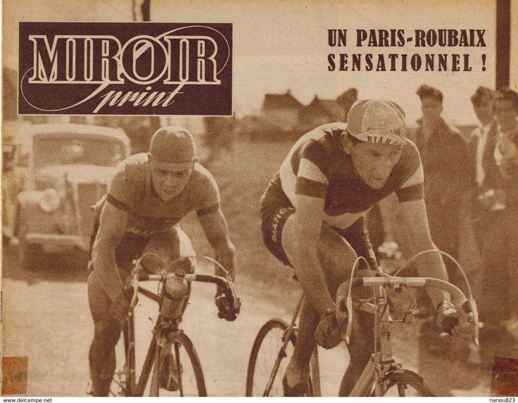 MIROIR SPRINT N° 200 1950 Paris Roubaix Coppi Amiens Doullens Arras Lesquin Hénin Liétard Rugby Castres Pau Racing - Sport