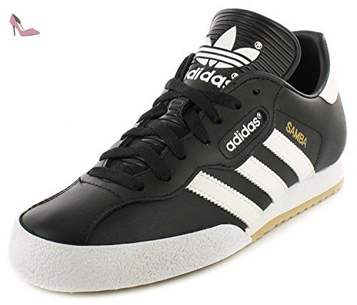Adidas Samba Super - Basket Homme Chaussure Football En Salle Cuir Noir / Blanc 39.5 - 47.5 - Noir/Blanc, 44 - Chaussures adidas (*Partner-Link)