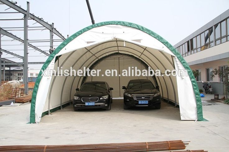 Portable Carport Two Car Garage /Chinese Dome Portable Houses