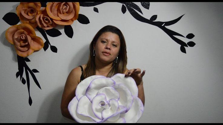 Flores em EVA Gigantes - Completo