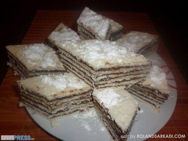 Hatlapos sütemény karácsonyra, recept - indapress.hu
