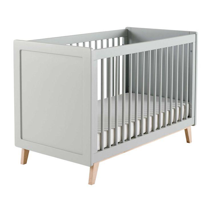 Cool Baby Gitterbett aus Holz grau L cm Sweet
