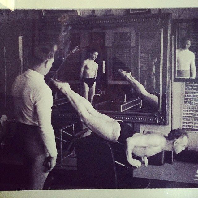 118 Best Images About Joseph Pilates On Pinterest