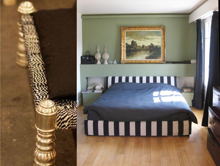 Maison au Raincy #house #bedroom Agence MOHA