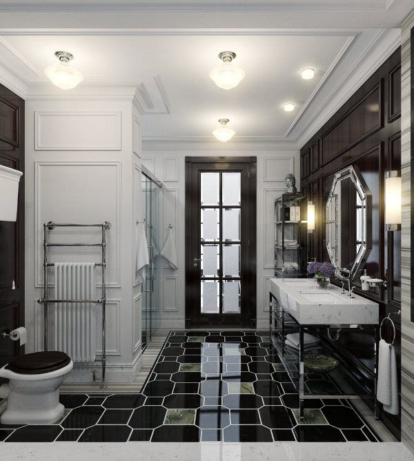 Bathroom for Kids in Modern Classics Style | InteriorHolic.com