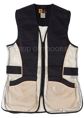 #Browning team lady ambi #shooting vest - #black/gold/beige,  View more on the LINK: http://www.zeppy.io/product/gb/2/172114987252/