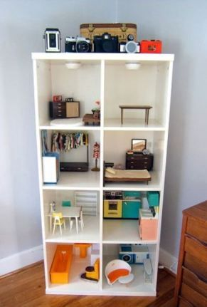 Unique, Inexpensive, Or DIY Ideas For A Play Therapy Or Childu0027s Room.  Bookshelf DollhouseWooden DollhouseDollhouse IdeasDiy Dollhouse Furniture  EasyIkea ...