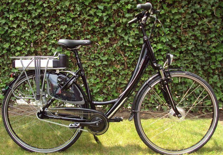Victoria 3.6 Trekking omgebouwd naar elektrische fiets met comfort ombouwset elektrische fiets