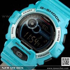Buy Casio G-Shock G-LIDE 200M Green Blue Watch GLS-8900-2, GLS8900- Buy Watches Online | Casio NZ Watches