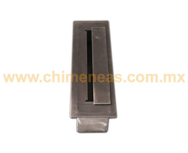 Depósito para etanol tipo split de acero inoxidable | Chimeneas Esqueda