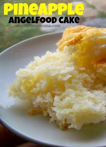 Weight Watchers Recipe Angel Food Cake Crushed Pineapple