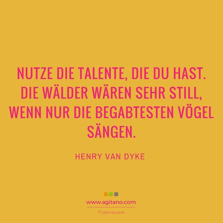 Schön #talent #begabung #zitate #sprüche #agitano