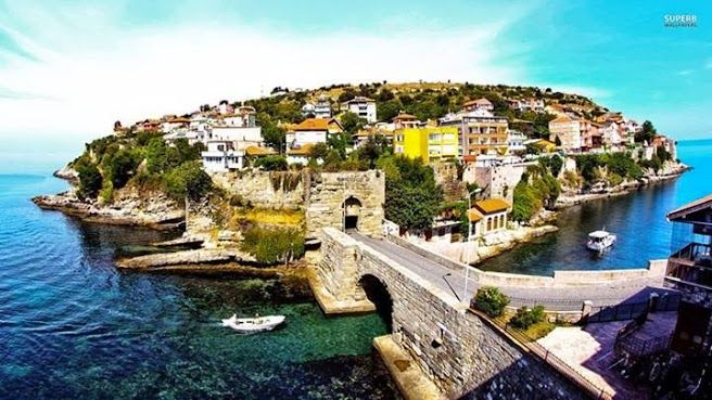 Amasra, Turkey Amasra is a small Black Sea port town in the Bartın Province, Turkey. The town is today much appreciated for its beaches and natural setting, which has made tourism the most important activity for its inhabitants.