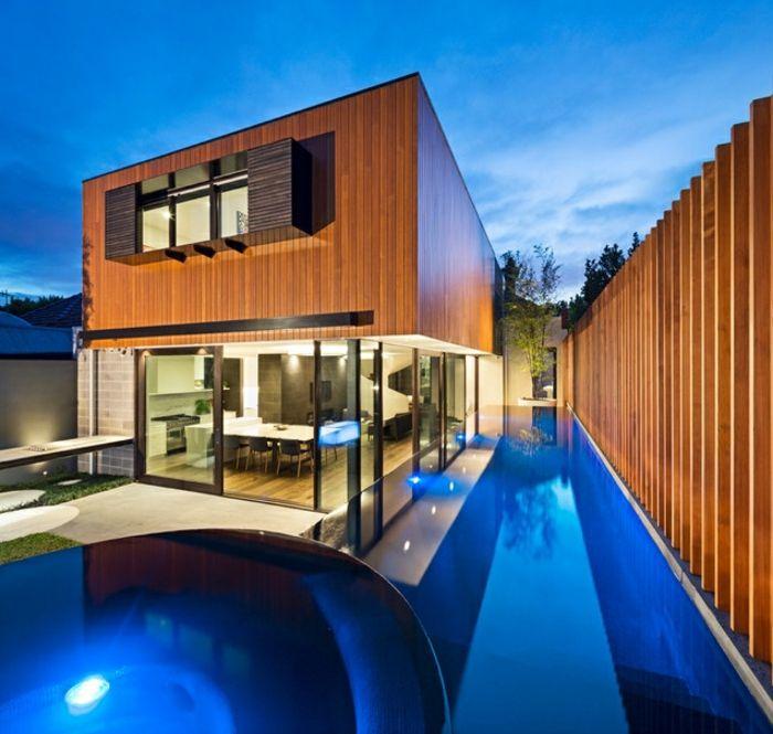 17 meilleures id es propos de eclairage piscine sur - Meilleure peinture bois exterieur ...