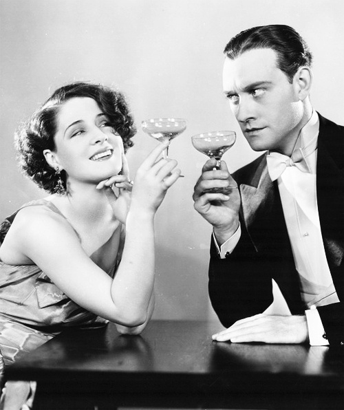 Norma Shearer  & Chester Morris - Vintage inspired wedding picture idea I would like to use