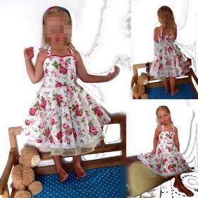 Freebook Petticoatkleid für Mädchen 62 - 158 nähen
