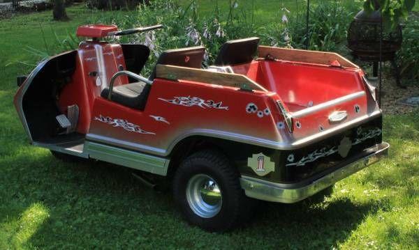 vintage 1971 harley davidson gas powered golf cart golf. Black Bedroom Furniture Sets. Home Design Ideas