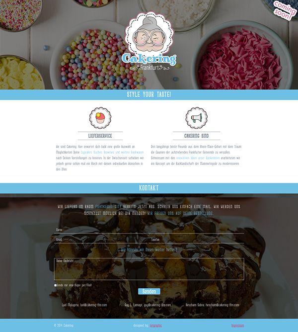 Cakering by #Setgraphic #webdesign #frankfurt