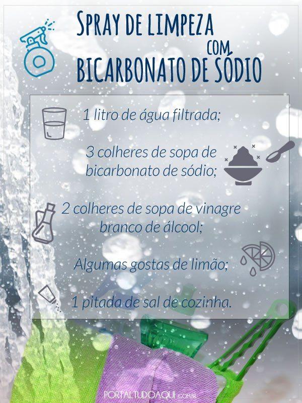 Bicarbonato De Sodio 20 Dicas De Limpeza Domestica Dicas De
