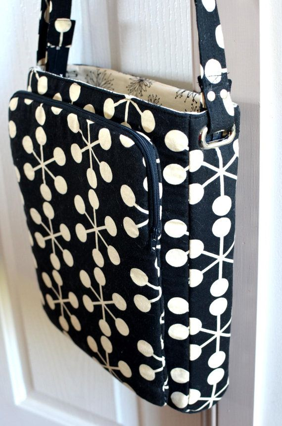 Cross Body Hipster Sewing Pattern with adjustable by ChrisWDesigns