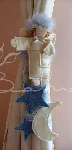 Erkek bebek odaları için tasarladığım perde braçolu  Handmade  Baharca