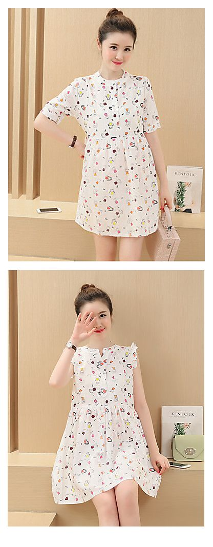 What a charming spring/ summer print maternity dress! Like it? Get it at just €14.69