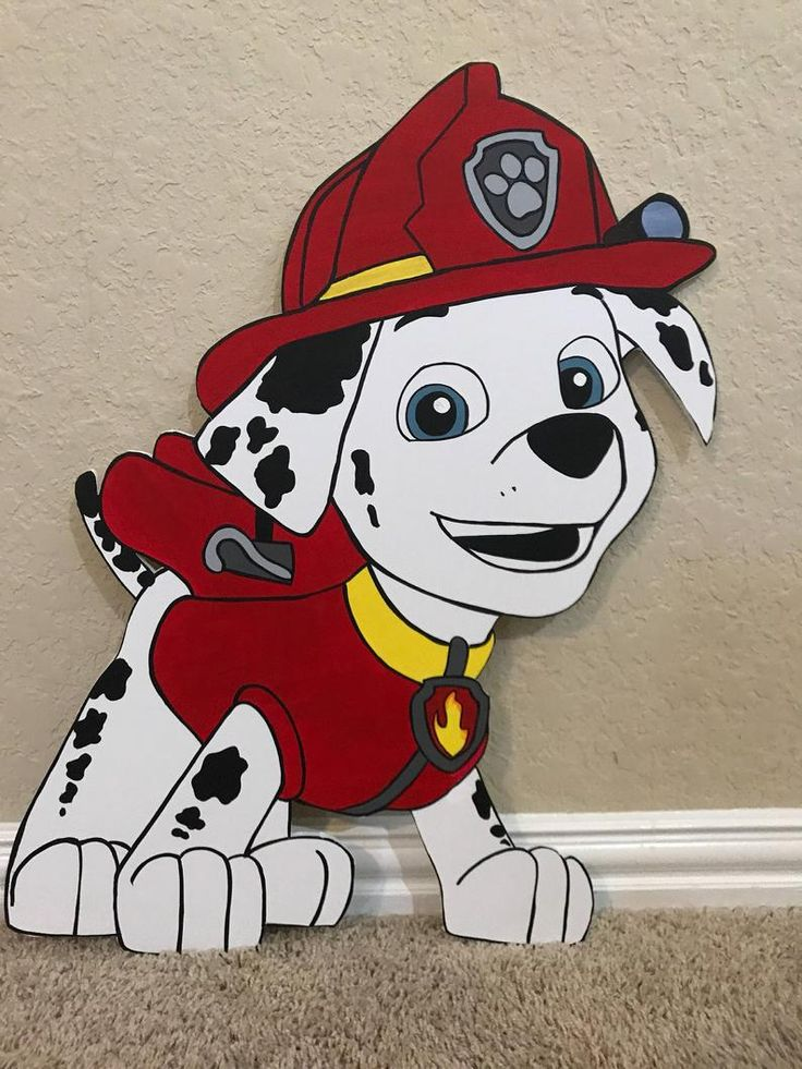 1 Paw Prop/Cutout Etsy Paw patrol decorations, Paw