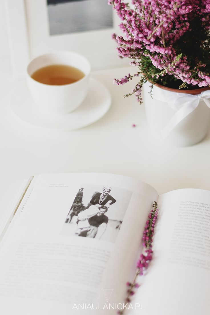 Ideal evening? Tea and a good book.