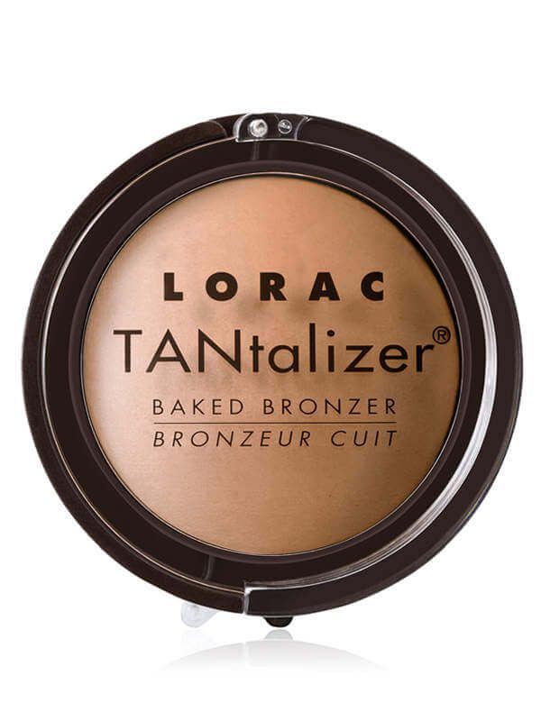 LORAC TANTALIZER BAKED BRONZER, shades: BRONZE, MATTE TAN, and GOLDEN GLOW, size: Golden Glow nt. wt. 0.29 oz./8.3 g., Matte Tan nt. wt. 0.31 oz./9 g. for $33.