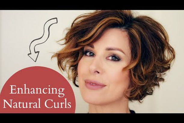 Enhancing Short Naturally Curly Hair Dominique Sachse