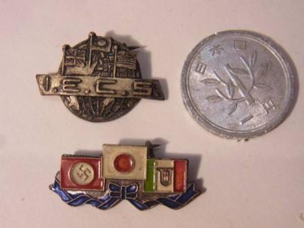通信英語学校の徽章バッチ