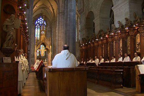 © ORFStift Heiligenkreuz meldet einen historischen Höchststand an Mönchen