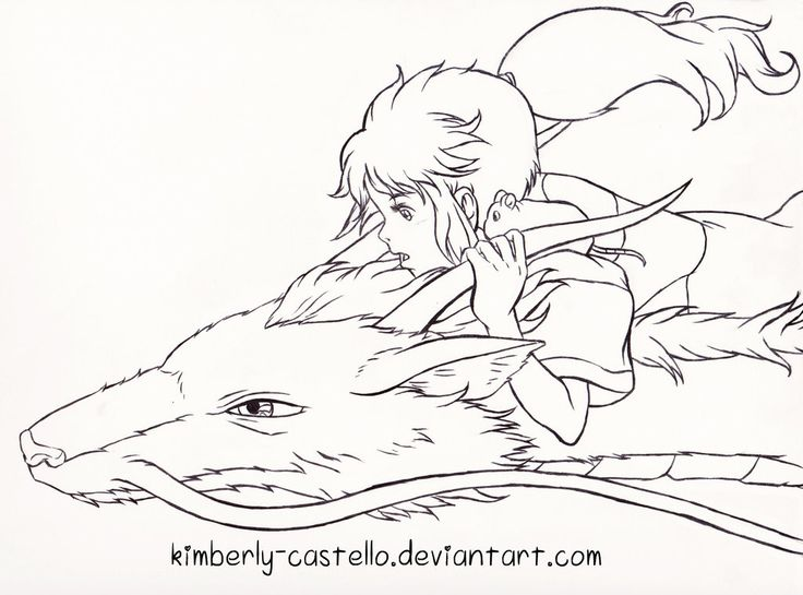 Line Art Studio Serpong : Best images about studio ghibli coloring pages on