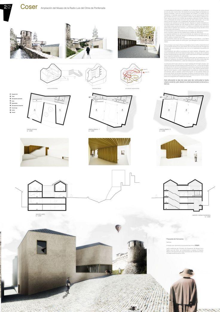 Coser 2 JF GV Coser Propuesta para el Museo de la Radio en Ponferrada