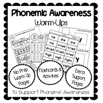 8 Best Images About Phonemic Awareness On Pinterest Student Bonus