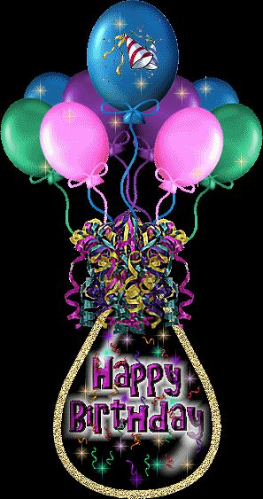 Happy Birthday Baloons Image