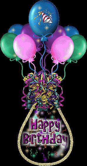 Happy Birthday Baloons Image