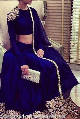 Lehenga Traditional Wedding Designer Indian Latest Bollywood Bridal Embroidered