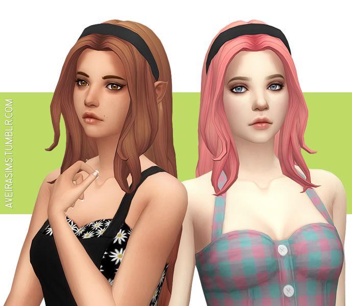 The Sims 4 CC || Aveira's Sims 4 || John Sims Ultraviolence Hair