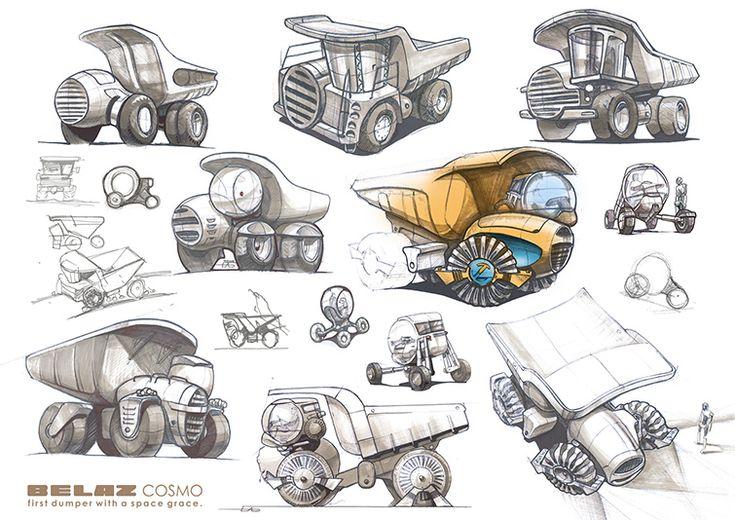 Belaz COSMO   Macosh design